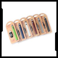 1100 mAh Pré-aqueça o VV Vape Pen Lei pré-aquecimento da bateria Variavle Tensão 510 Tópico Cartucho + USB Charger Kit pacote de bolha