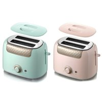 2 Stainless Steel Automatic Toaster Quick Heating Bread Mach...