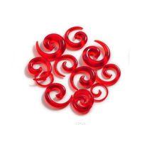 12 stücke Acryl Ohrverpacker Spiralohrstreckung Piercing Body Schmuck Mix Lots Gefälschte Ohr Expander Plug TU Jllxvc yy_dhhome