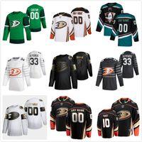 Anaheim Ducks Jerseys Corey Perry Jersey Josh Manson Max Jones Ryan Kesler Hampus Lindholm Nero Black White Ice Hockey Maglie Personalizzato Cucito