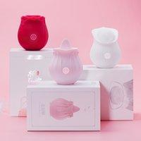 Rose Flower Sucking Vibrator For Donne Clit Sucker Vaginal Clitoral Stimolare i giocattoli erotici del sesso