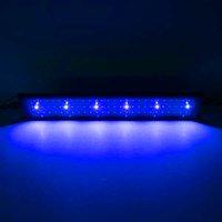 Venta caliente 18W 78LED Lámpara de hierba de agua de espectro completo 23.6inch Negro Luces de acuario de alta calidad (Adecuado para 23.6-31.49 pulgadas de acuario largo)