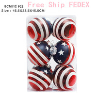 Birthday Decoration Party Supplies US Flag Star Balls Weddin...