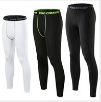 European and American new sports tights men' s quick- dry...