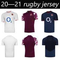 Yeni 2021 İngiltere Ev Uzakta Güzel Rugby Formalar Gömlek Uluslararası Ligi Yetişkin Yüksek Kaliteli Rugby Jersey Gömlek Büyük Boy S-5XL