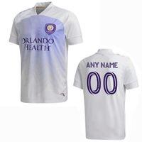 2020 2021 Orlando City Sc Soccer Jerseys Dwyer Mueller Nani MLS 20 21 Football Hommes Une chemise pour enfants