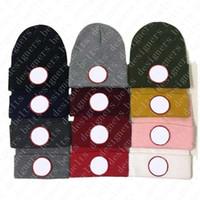 Hombre para mujer invierno sombrero de punto sombrero gorro de moda diseñadores de invierno gorras sombreros bonnet casquette d20122302CE