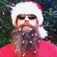 크리스마스 공 클립 크리스마스 장식 헤어 클립 크리스마스 공 헤어핀 수염 장식 다채로운 축복 재미 크리스마스 선물 HHA1626