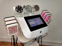 Ny 6 i 1 Microcurrent Face Lift Ultraljuds kavitation Lipo Laser Slimming Machine