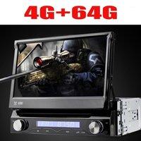 Автомобиль Audio Universal 1 DIN Android 9 8 Core DVD-плеер GPS WiFi BT Radio USB 64 GB ROM 4G SIM LTE Network SWC RDS CD OBD21