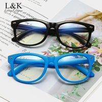 LongKeeper Anti Blue Light Kids Glasses Children Square Optical Frame Eyeware Boys Girls Clear Lens Computer Eyeglasses UV400