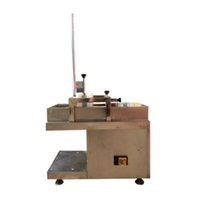 Couper de viande commerciale Slicer d'agneau en acier inoxydable Slicer de haute qualité à faible bruit de viande congelée machine de trancheuse 220V 110V