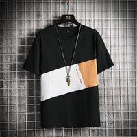 Erkek Tshirt Naruto Yaz Harajuku Serin Erkekler Kısa Kollu T Gömlek Japon Komik Baskılı Streetwear Artı Boyutu T-shirt Yeni 2020 LJ200827