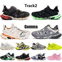 Track2 Release 3.0 4.0 Track 2 Designer Runner Shoes Gomma Man Mens Womens Sandalo Sandalo Sport Sport Scarpe Casual Scarpe da ginnastica Scarpe da ginnastica 2021 #
