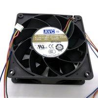 Fã de resfriamento de 120mm Novo original para AVC 2B12038B48U DC48V 1.30A 120x120x38mm 12cm 4lines de refrigeração do inversor
