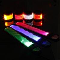 Наручный ремешок Светодиодный свет Множество цветных креативных кронштейн ленты люминесценции CORECT ROP 8 ЦВЕТОВ CLAP CLAP CORM FARCESTION Direct Reading 2 8YB P1
