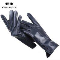 2020 moda yeni kadın eldiven, koyun derisi kadın kış eldiven, birden fazla renk deri eldiven Yüksek dereceli eldiven-2226C