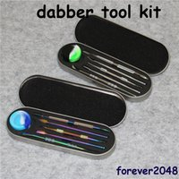 106- 121mm Wax container dabber tool set Aluminium box packag...