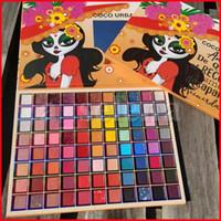 Cocourban 88 Farben Matte Lidschatten-Palette Langlebiger Glitter Lidschatten Pallete Schimmer Matte Nackt Pigment Wasserdichtes Lidschatten