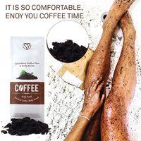 Kahve Scrub Body Scrub Krem Yüz Ölü Deniz Tuzu İçin Arındırıcı Beyazlatıcı Nemlendirici Selülit Tedavisi Akne