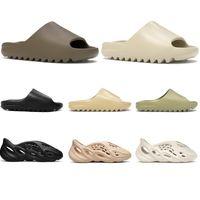 Beach Slip-on pantofole scivolo per uomini donne bambini Bone Triple nera fuliggine Nucleo Deserto di sabbia marrone chiaro terra marrone resina Ararat mens sandali all'aperto