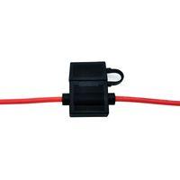 Produttori che vendono titolari di fusibili a lama di medie dimensioni di alta qualità Box fusibile auto IP67 Auto antipolvere Portafusibile rosso