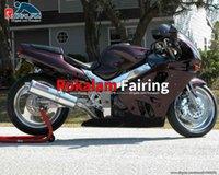 Parti moto per Kawasaki personalizzato Bike Bike Bike Lavoro ZX 9R ZX-9R 94 95 96 97 Kit di carenatura ZX9R 1994 1995 1996 1997 Farection moto