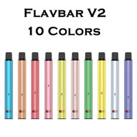 Newest Flavbar V2 Disposable e Cigarette Vape Pen 1000Puffs ...