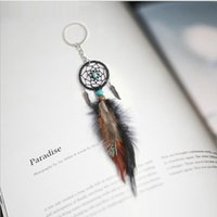 Mini Dreamcatcher Keychain Car Hanging Handmade Vintage Ench...