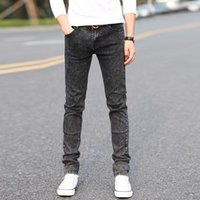 New 2020 Men's Fashion Jeans Hot Jeans For Young Men Sale Men Pants Casual Slim Cheap Straight Mens Ripped