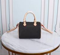 Высокое качество роскоши дизайнеры сумки сумки кошельки женщина мода кроджобищная сумка M61252Shourder Bags Mini Nano Speedy цепная сумка с пылью
