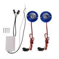 Notbeleuchtung 2 Stück / Set Auto Motorrad High Power LED Dekorativer Strobe Flash Bremse Rücklicht für LED1