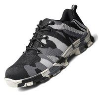 Hot Sale New men breathable mesh running shoes indestructibl...