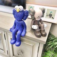 Best-selling 37cm e 25 cm originalFake Changsha Sésamo Street Companion Caixa Original Caixa de Tendência Figura Modelo Decorações Brinquedos Presente
