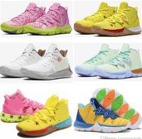 2021 رجل Kyrie TV PE أحذية كرة السلة 5 ل 20th الذكرى الإسفنج x ايرفينغ 5 ثانية الأناناس البيت المرأة الرياضية أحذية رياضية