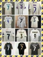 Benzema ISCO 1998 2011 2013 2014 2014 2016 2017 2017 Real Madrid Retro Soccer Jersey Ronaldo 14 15 Chemise de football Chinoise Dragon