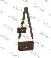 M80091 Mujeres Diseñador de lujo Bolsos de diseño cuadrado Bolsas de hombro de gran capacidad de cuero real acolchado Messenger de alta calidad con caja