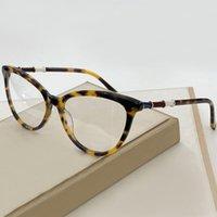 Wysokiej Jakości Cool Cat's Eye Okulary Okulary Rama Damska Umbelle Retro Okulary Okulary Damskie Okulary Bambusa Efekt Leg Box