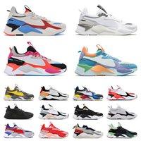 أعلى جودة الرجال rs-x الاحذية الكأس الأبيض الأزرق مشرق الخوخ اللعب النساء الرجال المتسابق المدربين الركض المشي روبية x الرياضة أحذية رياضية 36-45