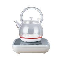 Автоматический шелунг-шуй Электрический чайник Кунг-фу чайная плита накачки воды подъемный горшок бытовой маленький эмаль стекло один DSD12E