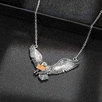 Eagle Подвески Ожерелья Личность Роскошные ювелирные изделия Мужчины Женщины Мужчины Женщины ожерелье