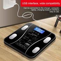 Smart balanças corporal gordura escala eletrônica Digital banheiro analisador de composição para peso Músculo IMC de água