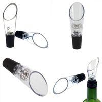 Neue Silikonbelüfter Dekantieren Belüfter-Filter-Belüfter Wein-Wine-Ausgießer Bar-Werkzeuge Ausgießer mit OPP-Verpackung 100 J2