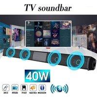 2021 Sıcak Yeni Kablosuz Bluetooth Soundbar Stereo Hoparlör Ev Sineması TV Ses Bar Subwoofe1