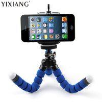 삼각대 Yixiang 휴대 전화 홀더 디지털 카메라 유연한 낙지 다리 삼각대 브래킷 스탠드 어댑터 마운트 Monopod 거품 모바일