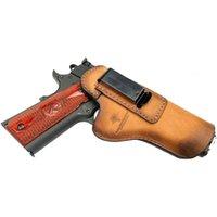 Relentless taktisch Der Defender Leder IWB Holster passt für den meisten Stil Hand S Kimber Colt W Sig Sauer Remington Ruger
