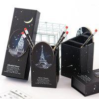 DONG CULTURE Crayon Crayon Multifonctionnel Pliant Crayon Box Fournitures d'apprentissage Kawaii Case Cute1