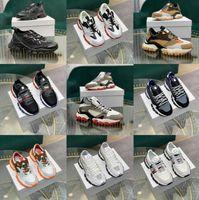 En Kaliteli İtalyan Tasarımcı Erkek Merhaba Üst Sneakers İtalya Üçlü S Deri Tuval Platformu Eğitmenler Siyah Beyaz Rahat Düz Dantel Ayakkabı