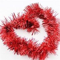 2 متر عيد الميلاد الحلي تينيل جارلاند متعدد الألوان إمدادات حزب سباركلي سقف شنقا ديكورات الأراضي المنزل حار بيع 0 74ab g2