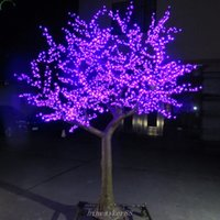 LED Cherry Blossom Tree night Light Christmas new year weddi...